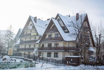 Tetmajer centrum apartment complex Zakopane