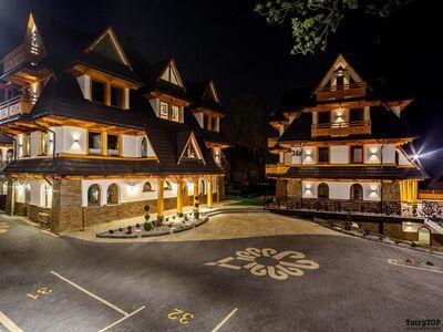 Zakopiańskie Tarasy Premium Sauna jacuzzi kompleks apartamentów Zakopane